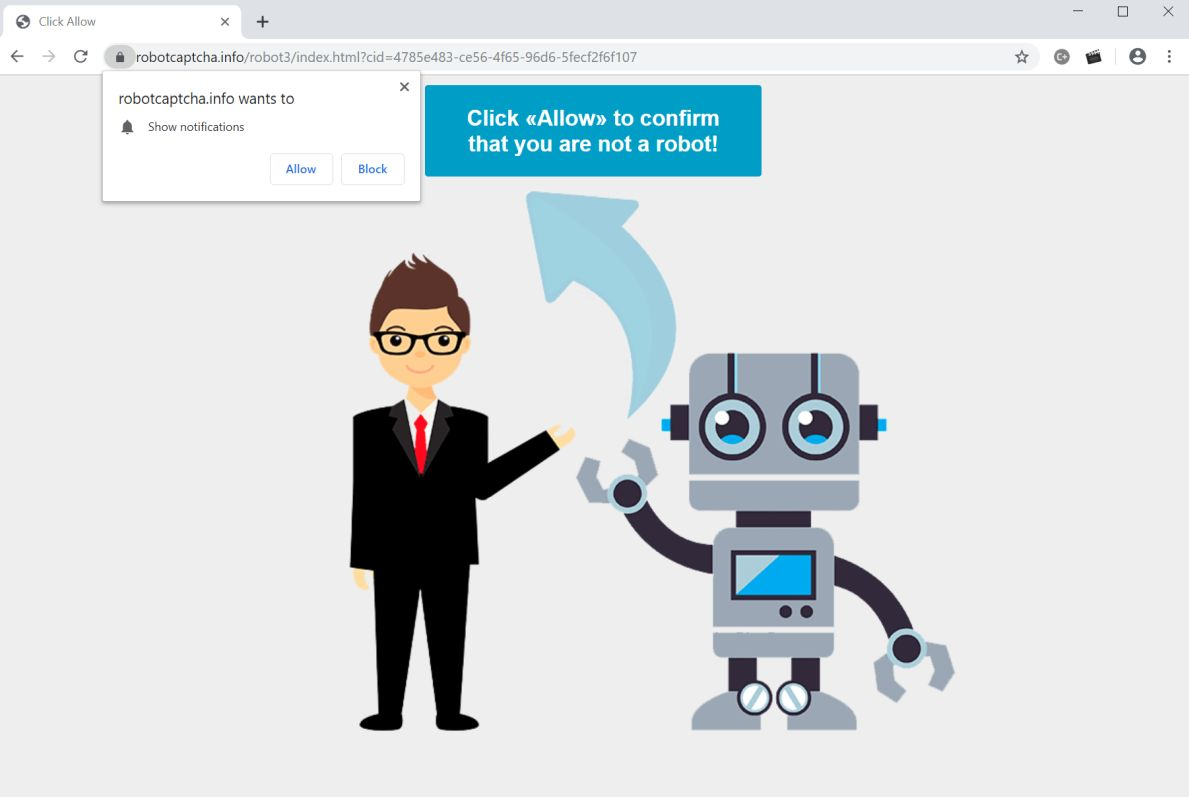 How to remove Robotcaptcha info pop-up ads (Virus Removal Guide)