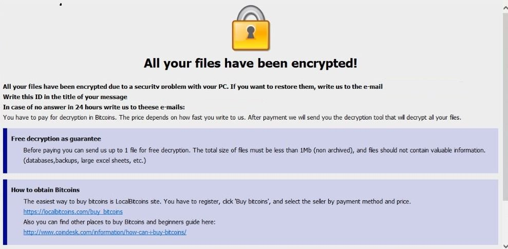 Image: [Crypt1style@aol.com].MERS Ransomware Virus