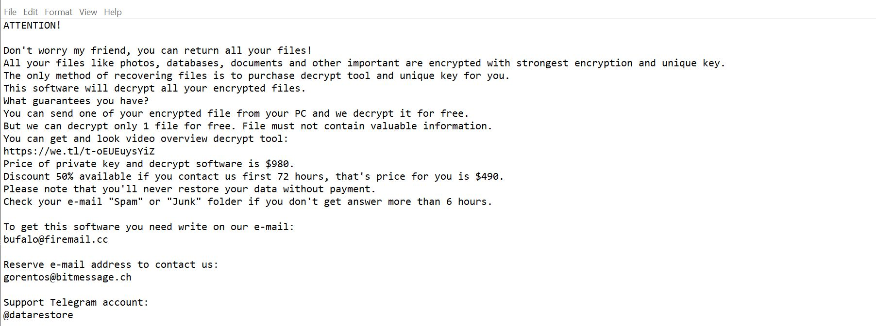 Image: Dotmap ransomware