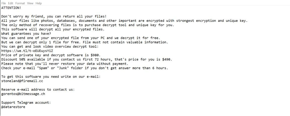 Image: Boston ransomware