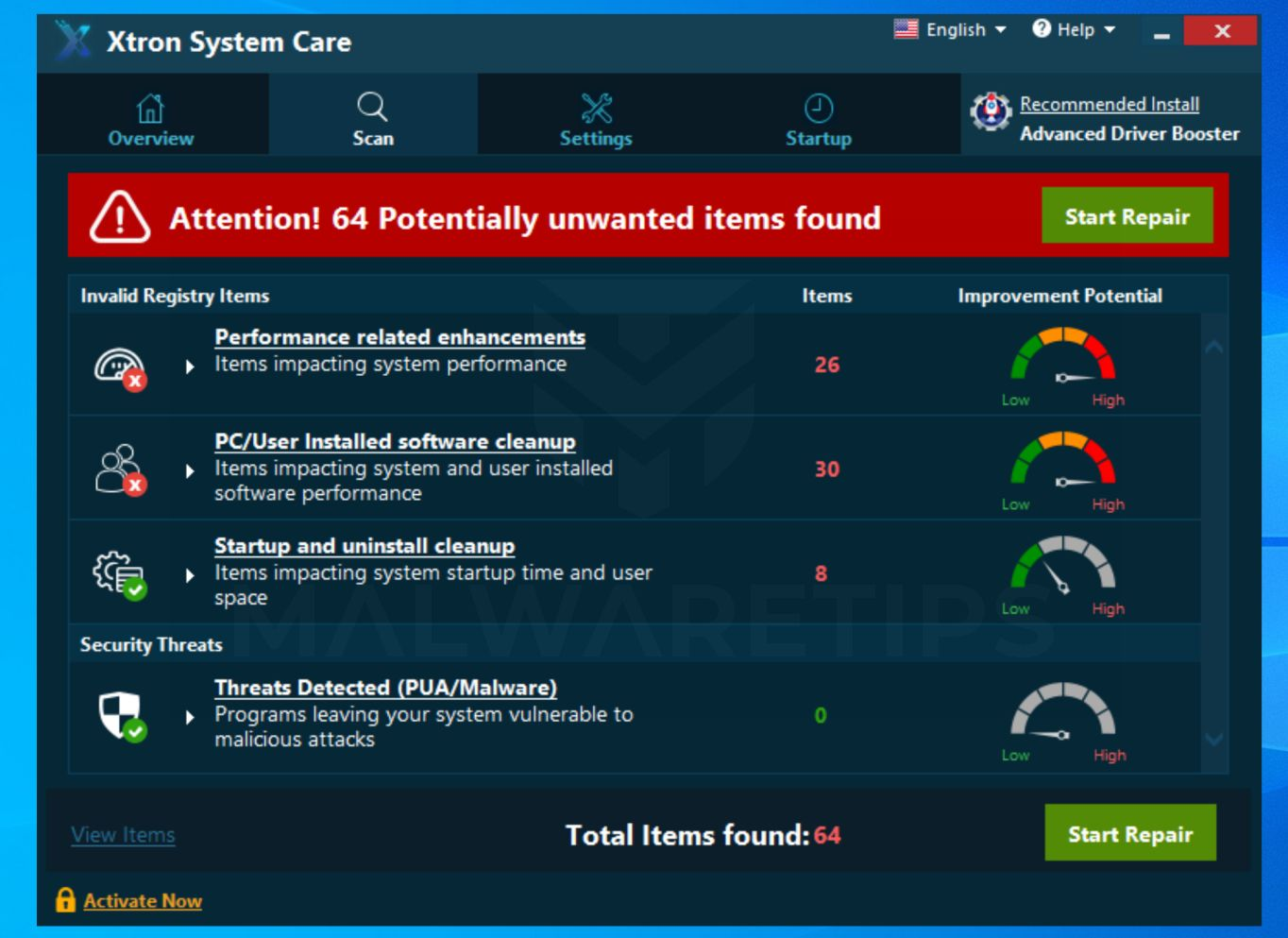 How to remove Xtron System Care (Virus Removal Guide)