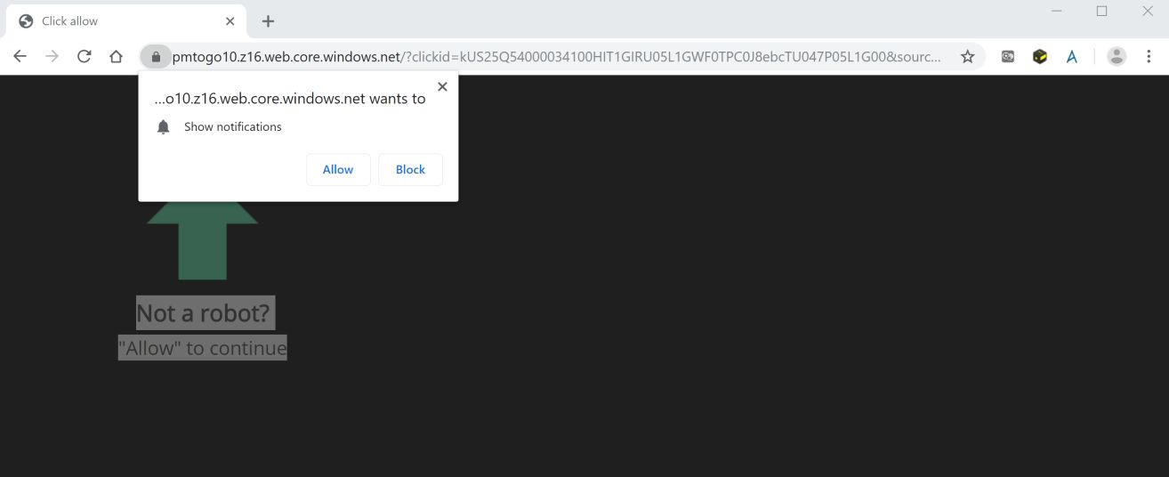 How To Remove Pmtogo10 z16 web core windows net Pop-up Ads