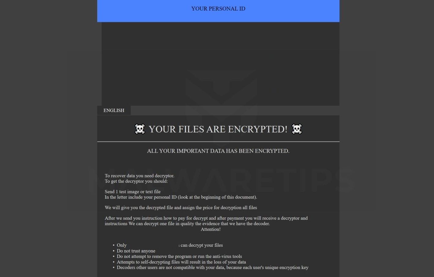 How to remove TANOS ransomware (Virus Removal Guide)