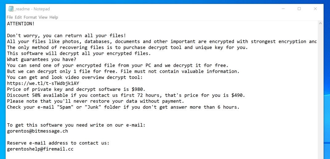 How to remove PETA ransomware (Virus Removal Guide)
