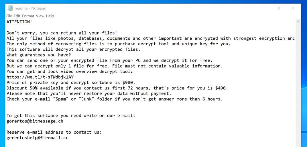 Image: Leto Ransomware