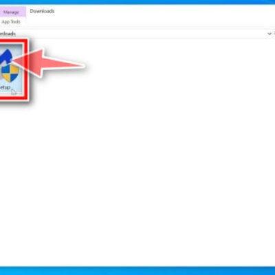 Double-click on mb3-setup to install Malwarebytes Free