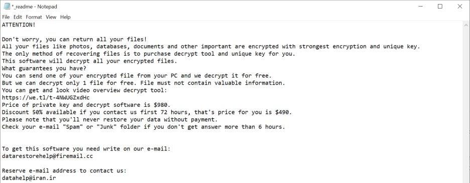 Image: Msop ransomware