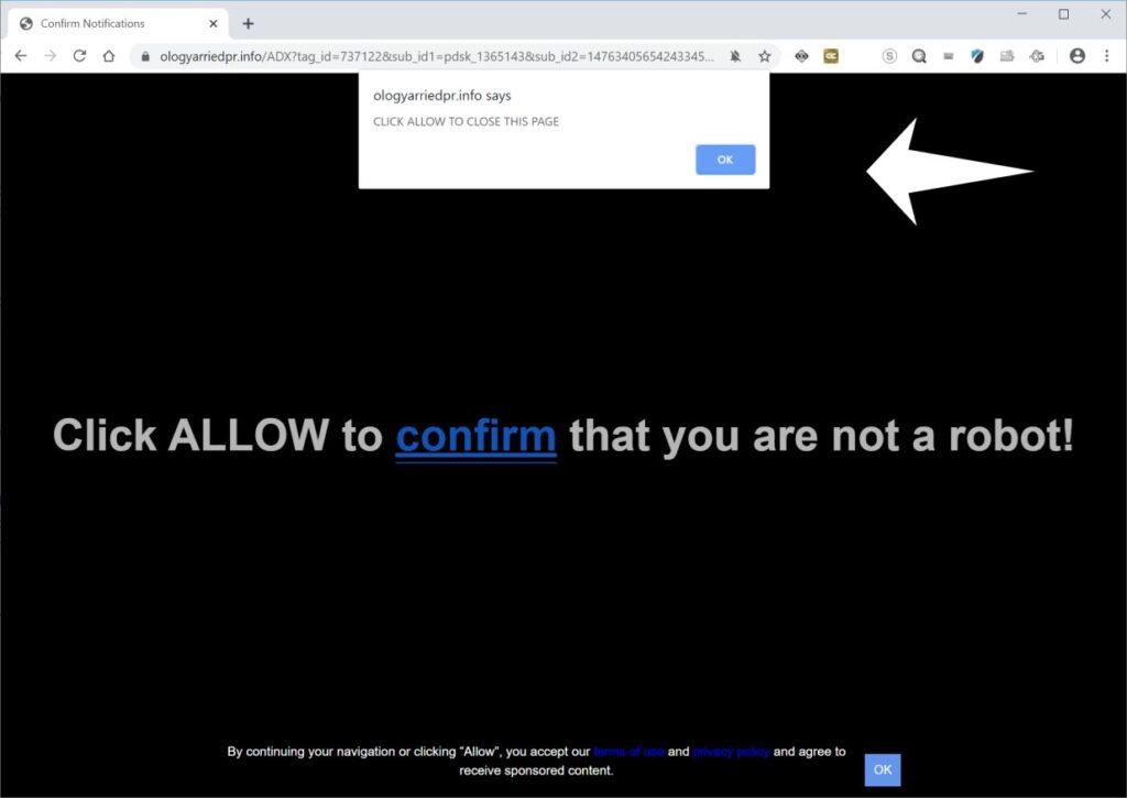 Pop-up ads Chrome