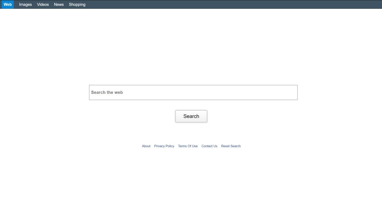 Image: Chrome browser is redirected to search.pricklybears.com