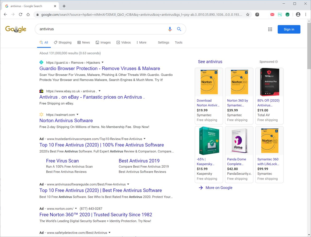 Image: SearchReceipts Ads