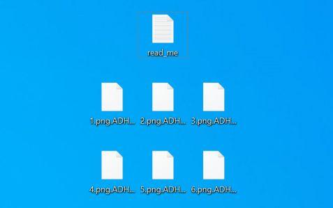 Image: ADHUBLLKA Files Encrypted