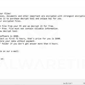 Image: LALO ransomware