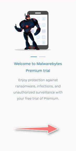 Malwarebytes Setup Screen 1