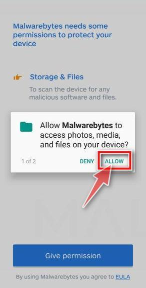 Malwarebytes Setup Screen 4