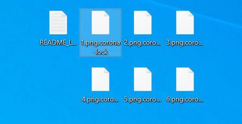 Image: Corona-lock Encrypted Files