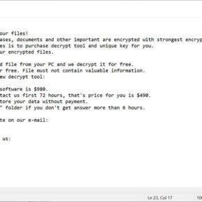 Image: PYKW ransomware