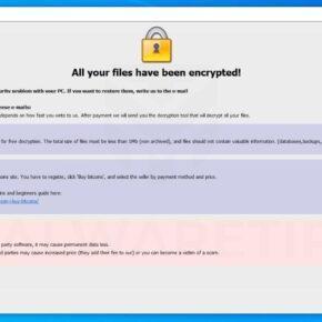 Image: Chinz ransomware