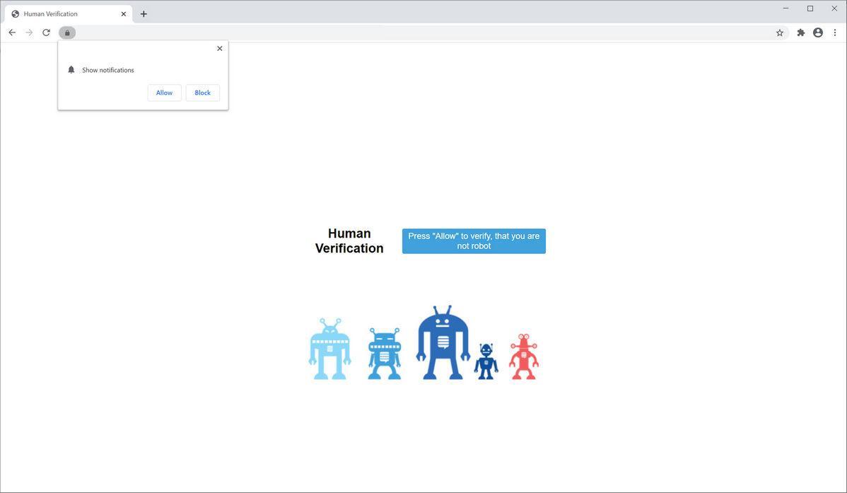 Image: Chrome browser is redirected to Plasminori.club