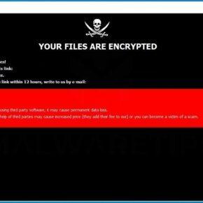 Image: [linajamser@aol.com].lina ransomware