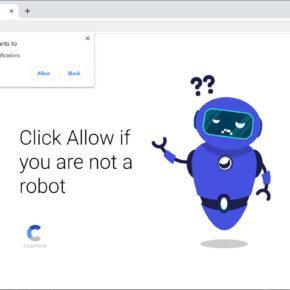 Image: Chrome browser is redirected to Net09.biz
