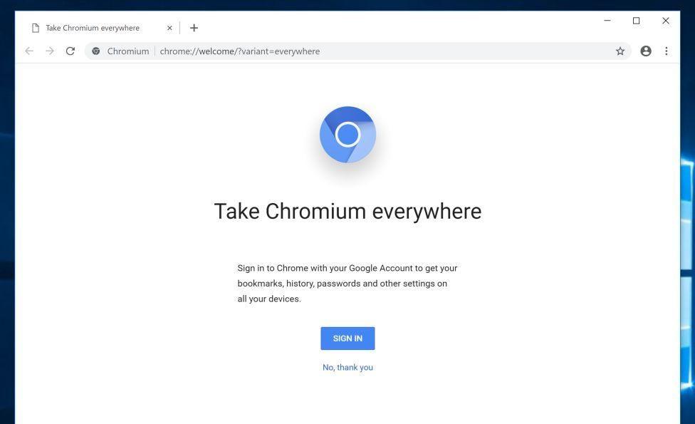 Image: Chromium browser hijacker
