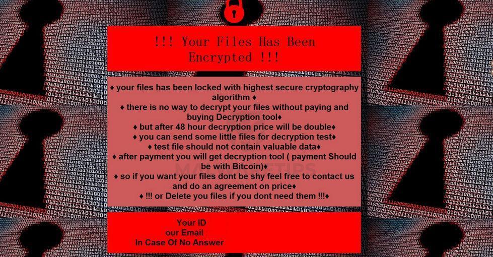 Image: [AdminDecrpt@zohomail.com][ID].caterpillar ransomware