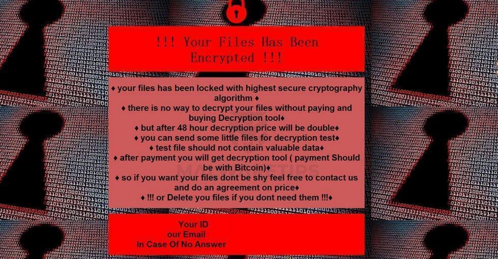 Image: [encryptfull@criptext.com][ID].foo ransomware
