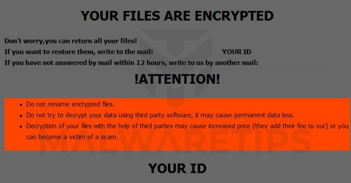Image: ORAL ransomware