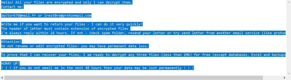 Image: Zwbowhtlni ransomware