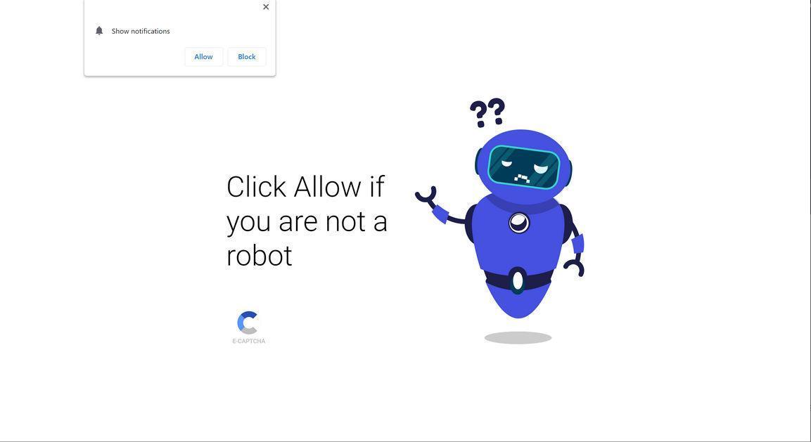 Image: Chrome browser is redirected to Ndoedforan.biz