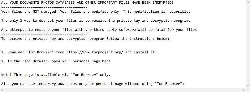 Image: qoiibbj ransomware