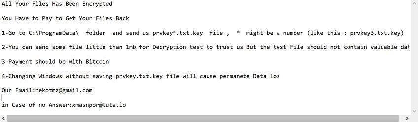 [end_3ncrypt@tutanota.com][ID].end ransomware