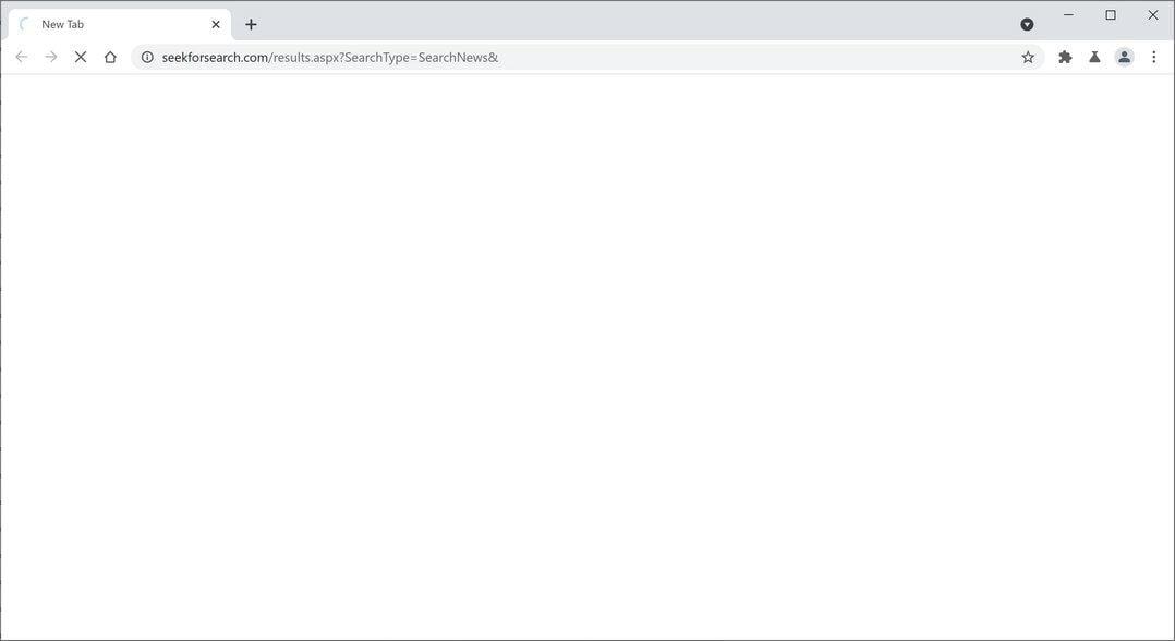 Image: seekforsearch.com browser hijacker