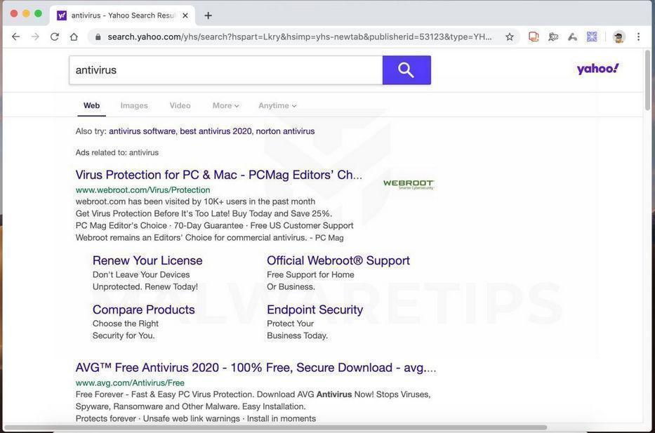Image: SkilledInitiator browser hijacker