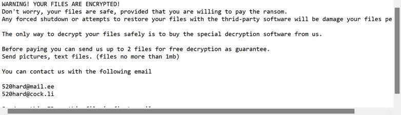 Image: 520 ransomware