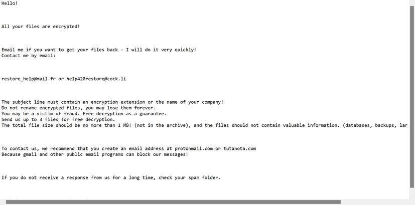 Image: Yhlgaopimd ransomware