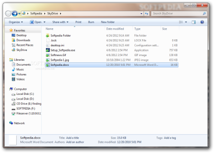 New Microsoft's Skydrive for pc is available for download ...