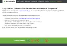 roboform 8 license key activation
