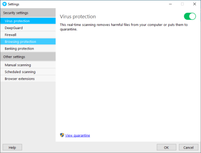 F-Secure Virus Protection settings.PNG