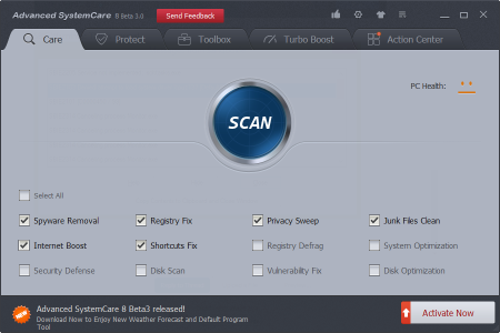 Advanced systemcare 9 beta adds full windows 10 support and new.