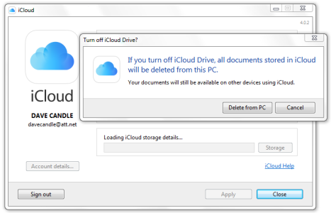 Solved - If you turn off iCloud Drive all documents stored in iCloud