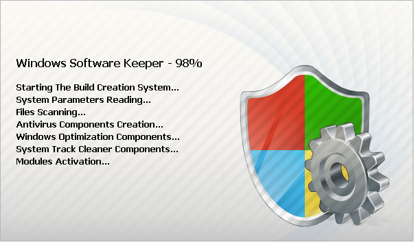Windows Software Keeper Splash Screen