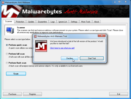 how to delete quarantined files in malwarebytes
