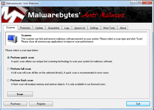 [Image: Scan with Malwarebytes S2]